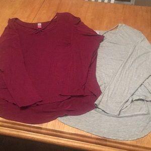 Women's plus size bundle of 2 matching shirts xxl
